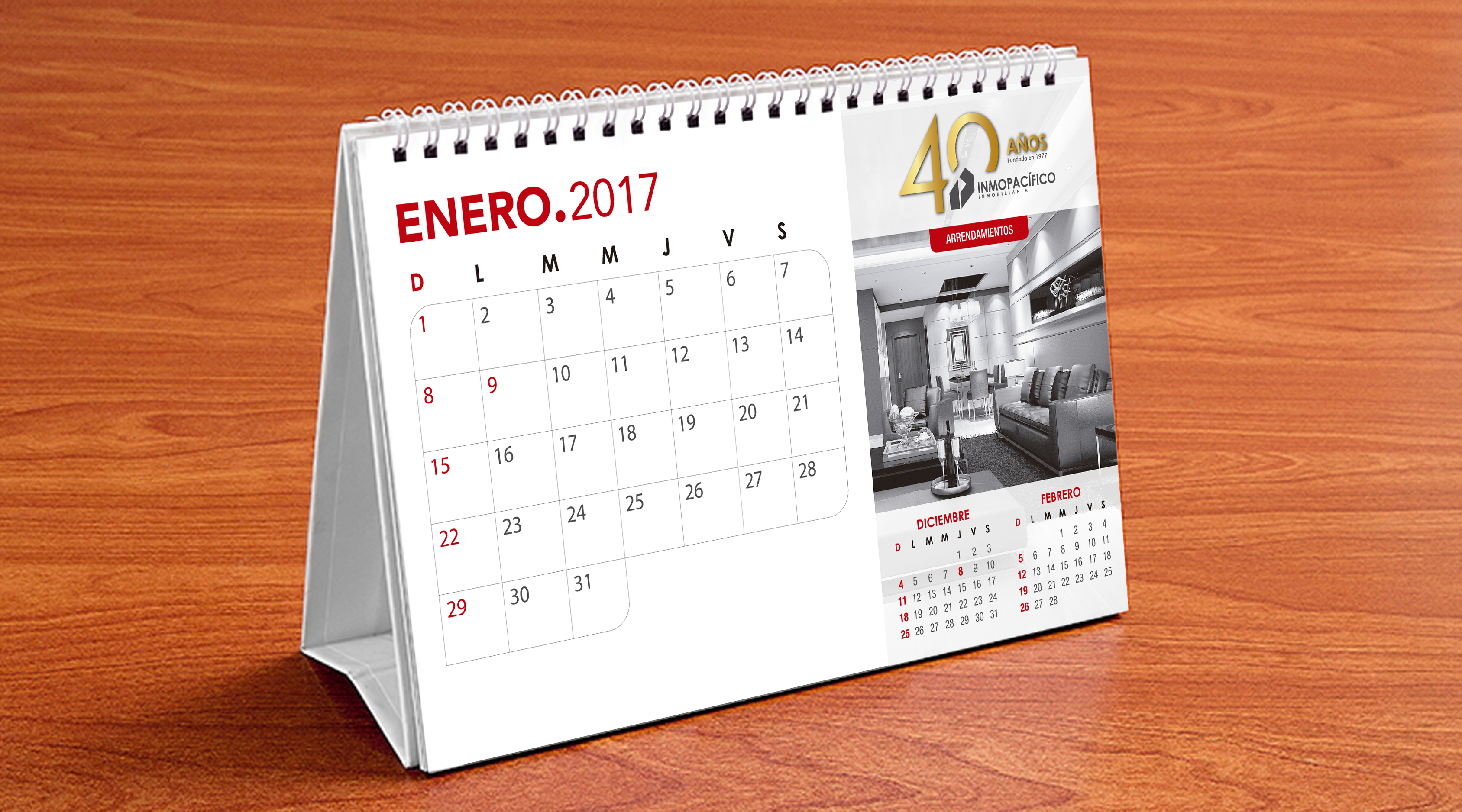 Calendario // Inmopacífico