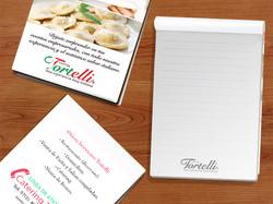 Libreta // Restaurante Tortelli