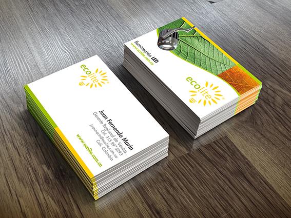 Tarjeta de presentació // Ecolite