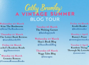 Blog Tour: A Vintage Summer by Cathy Bramley