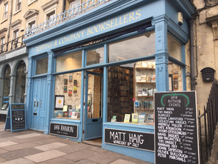A Lovely Bookish Break in Bath