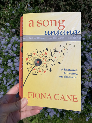 Blog Tour: A Song Unsung by Fiona Cane