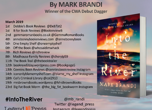 Blog Tour - Into the River by Mark Brandi