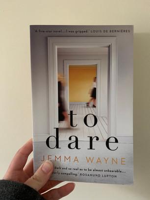 Blog Tour - To Dare by Jemma Wayne