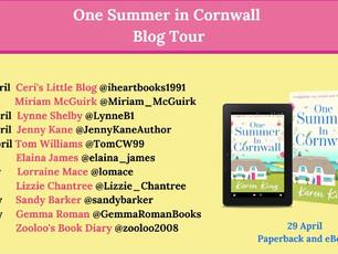Blog Tour: One Summer in Cornwall by Karen King