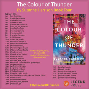 Blog Tour: The Colour of Thunder by Suzanne Harrison