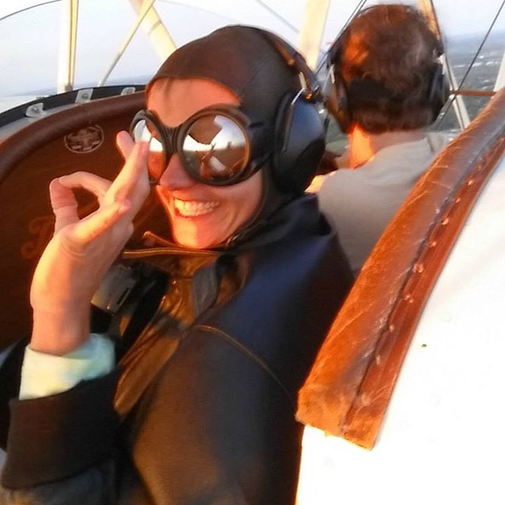 It's #aokay to take a #biplane #ride in #acethebiplane