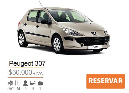 Tarifa Peugeot