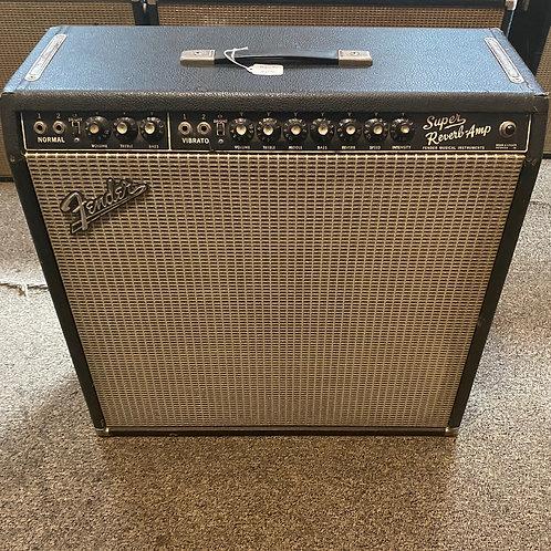 1966 Fender Super Reverb Amp