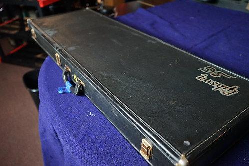 1965-69 Gibson LP or  SG case.Somewater damage inside.
