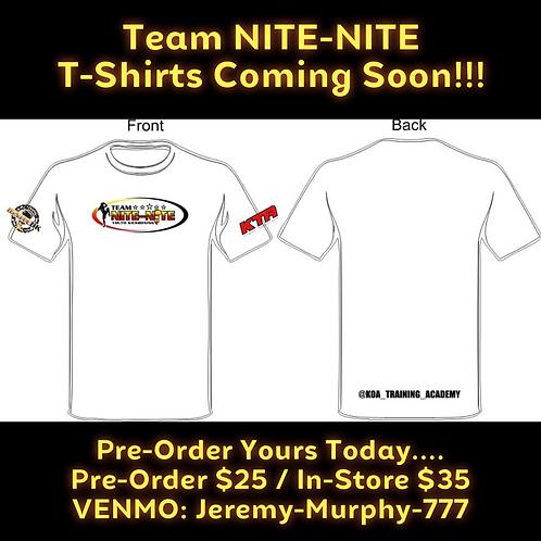 Team NITE-NITE T-Shirts