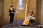 Doriane Cheminais harpe Hérault Languedoc Mariage Cleflorale violon flute violoncelle Eugénie Loison Claire Sala