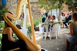 Mariage Collioure Harpe