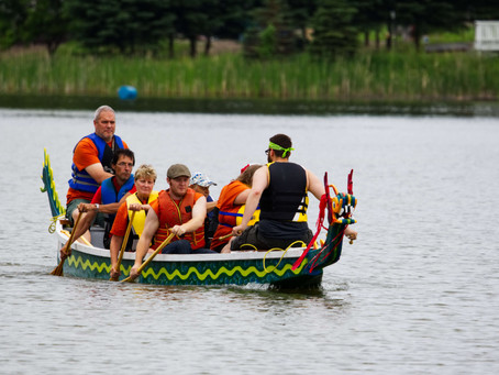 Dryden's Canada Day Dragon Boats