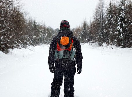 Snowshoeing in the Backcountry