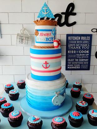 Nautical Baby Boy