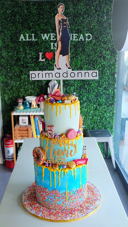 Candy Land Drip Cake