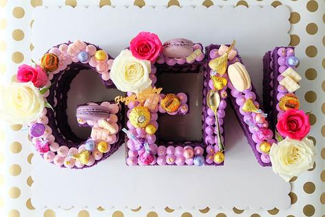 GEN Letter Cake