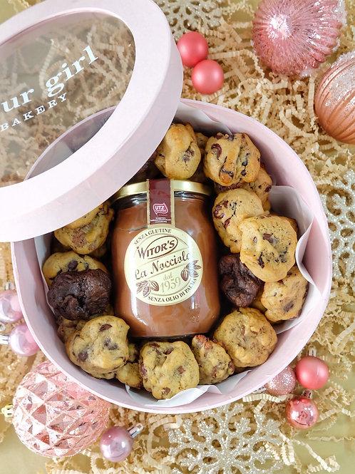 Quarter Gram Cookie Gift Box with Nocciola
