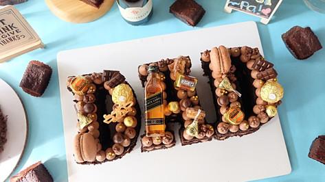 DAD Letter Cake