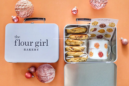 Hundred Gram Cookie- BOX OF 6 with MUG and STICKER SET
