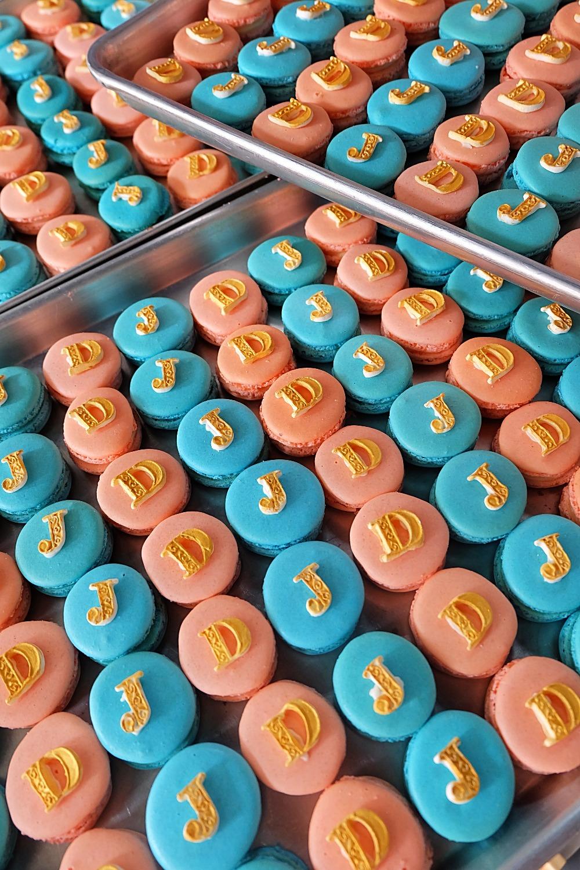 Macaron Initials