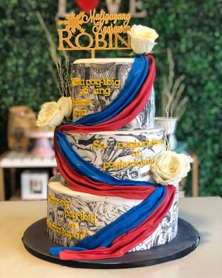 Patriotism Cake