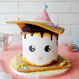 Kawaii S'mores Cake