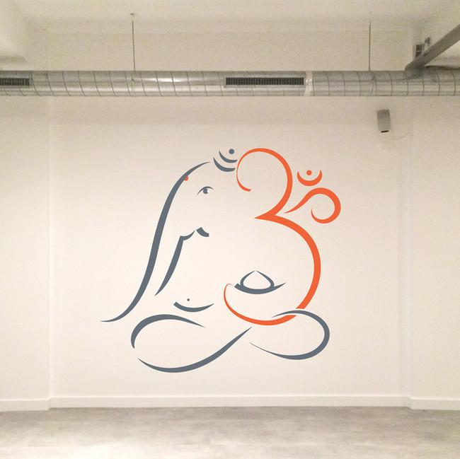 mural painting centrum bodhi