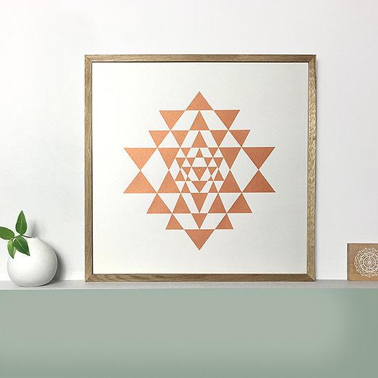 Navayoni Chakra - Copper