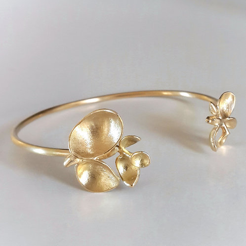 Buds Bracelet in 18k Gold