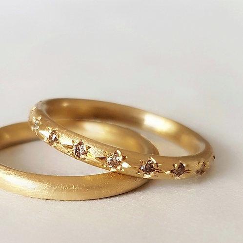 טבעת עגולה חלקה / טבעת נישואין