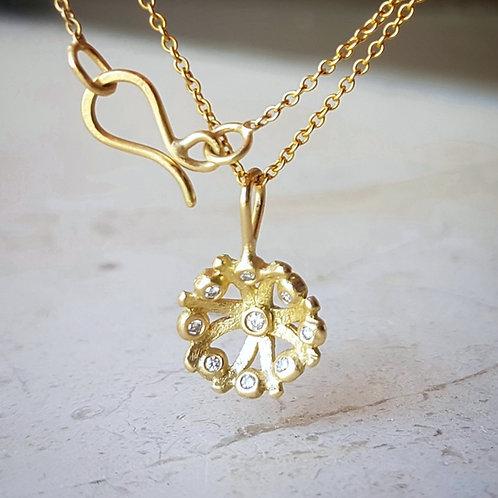 Flora Diamond Pendant