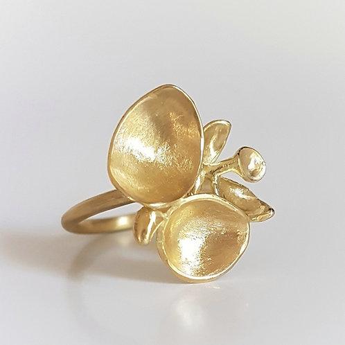 Buds Ring in 18k Gold