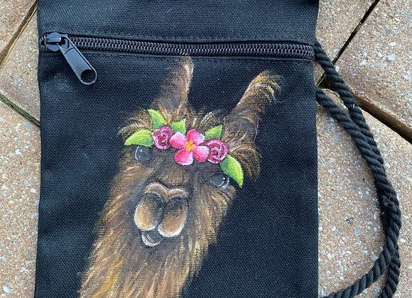 Conswala Hand Painted Satchel Bag