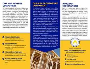 Annual Partnership & Sponsorship Program