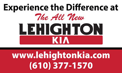 Lehighton Experience the Difference Bann