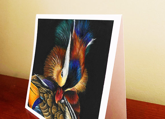 "5.5"" x 5.5"" Mandarin Greeting Card With Envelope"