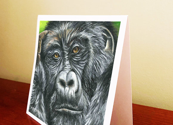 "5.5"" x 5.5"" Ape Greeting Card With Envelope"