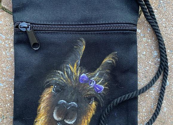 Ellie Hand Painted Satchel Bag