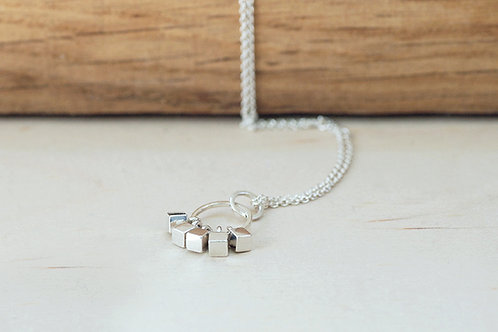 Cube Cluster necklace