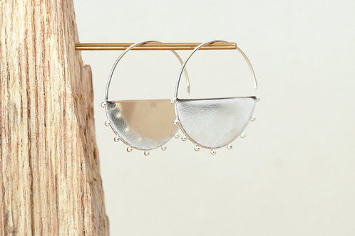 Large Solid Arc hoops