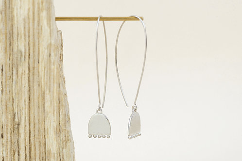 Arc Drop earrings