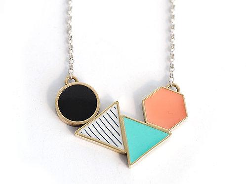 Geometric 'Shapes' Necklace