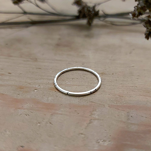Simple Notch Stacking ring
