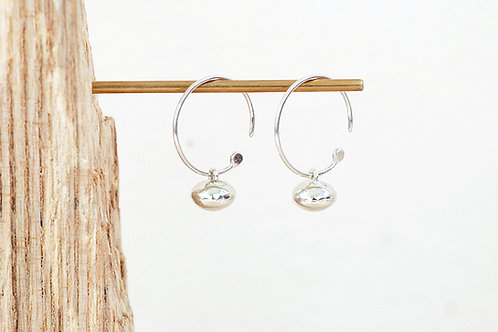 Mini Pebble Hoops
