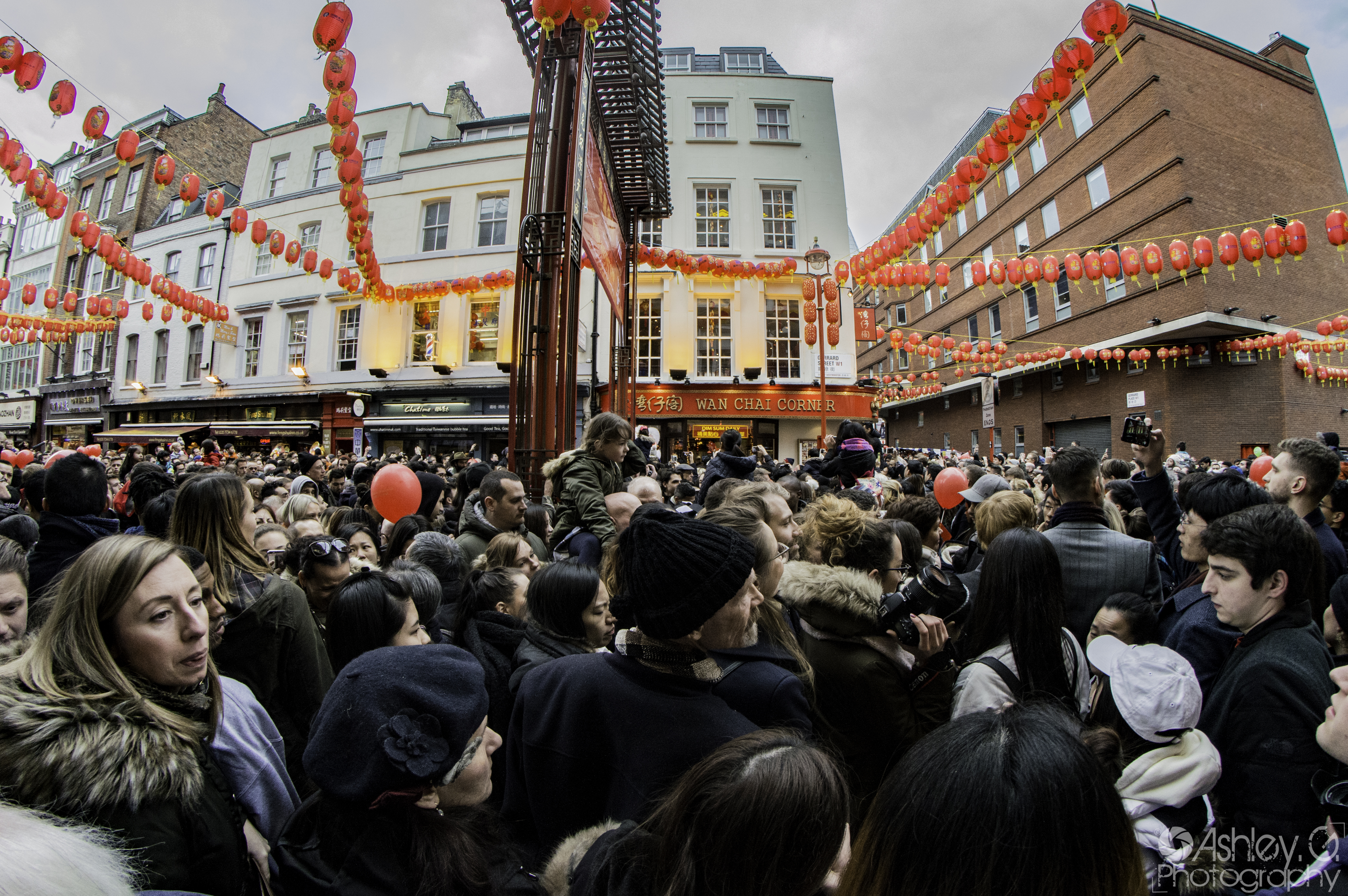 This is busy Chinatown