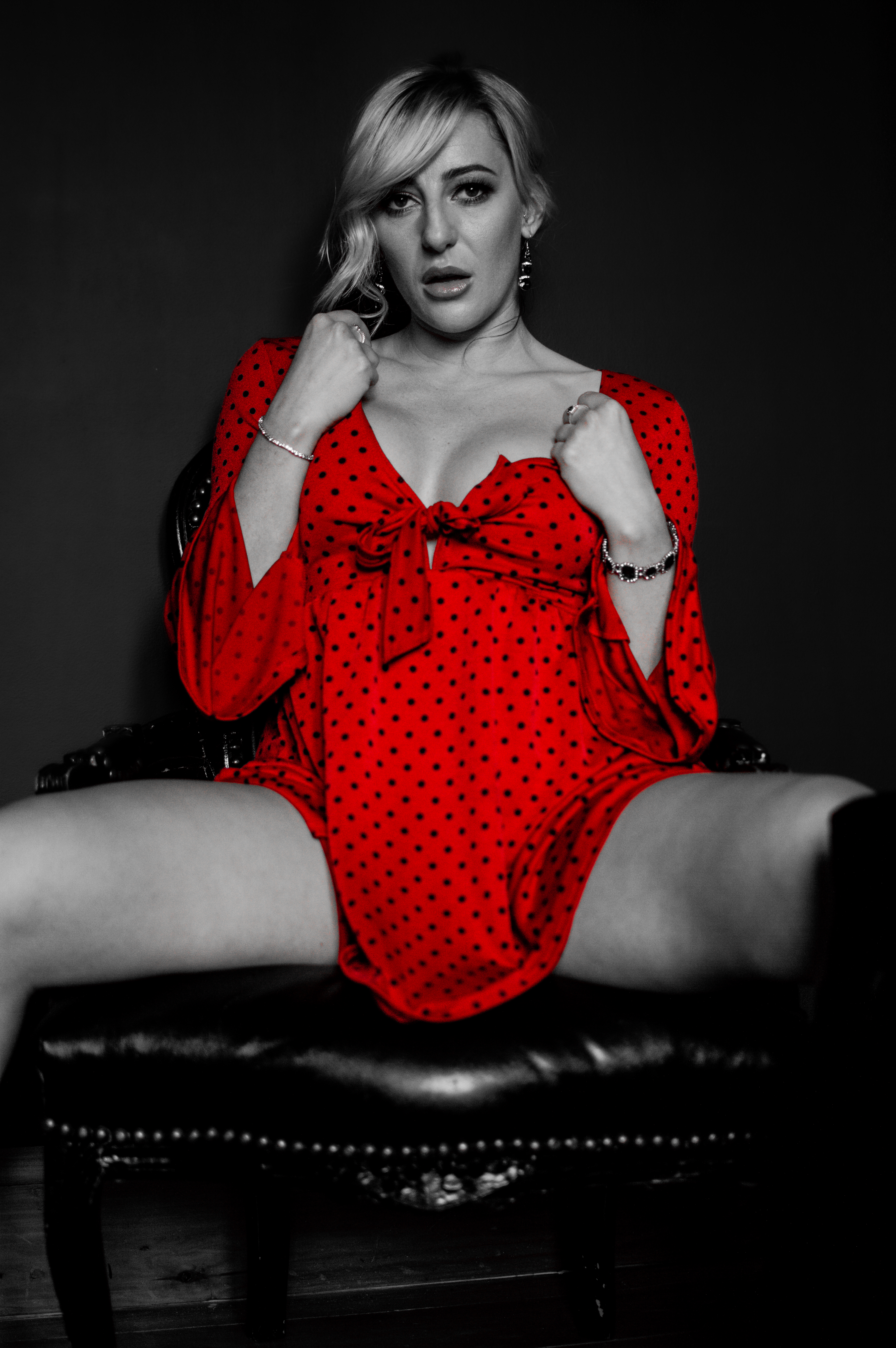 Red and spotty