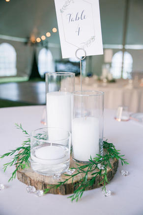 Centerpiece with Placecard