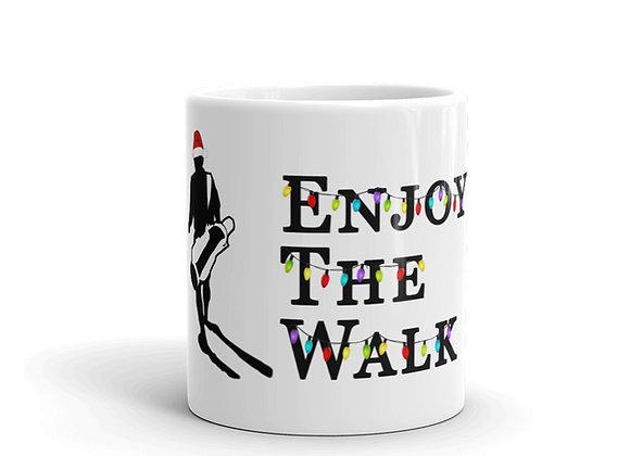 Enjoy The Walk - It's LIT - Christmas Mug